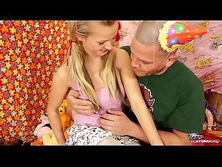 Teenyplayground bella baby blonde cute sweet schoolgirl drilled by older cock