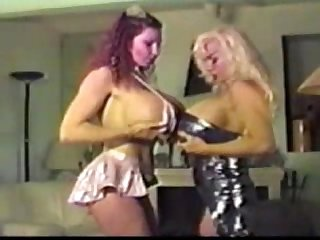 Melonie and Teddi 2 huge tits girls