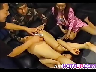 Kikurin Asso enjoys porn party with girls and lads - More at hotajp com