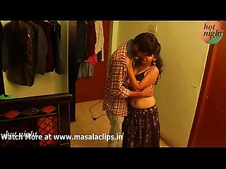 Cute girl navel licked and hard enjoyment in bra
