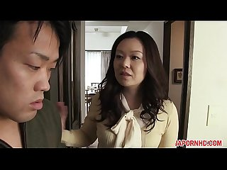 Jav uncensored with English subtitle mom gives son blowjob before leaving