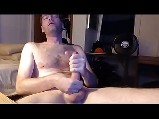 Huge dick solo stroking and cumshot on live cam- cams4gays.com