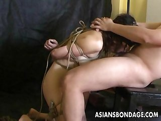 Asian freak couple going through a sexual experimentation phase