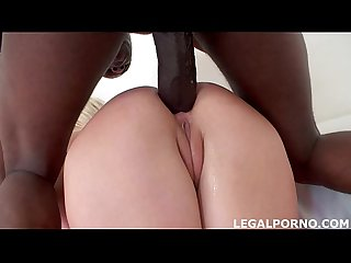 Black Buster, Mke Chapman introduce to Nataly his big black cock. Ass Fucking ball deep! GIO045