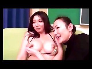 Asian lesbian sucking big boobs compilation 1