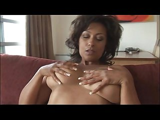 Big tits mature danica in teasy striptease and panty play