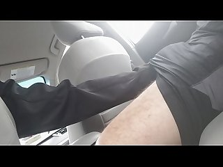 Letting The uber driver grab my cock period