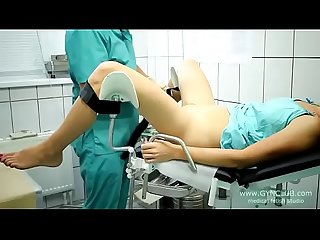 Beautiful girl on a gynecological chair 33 2