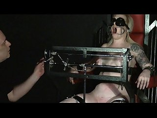 Angels tower of pain tit and extreme bondage of blonde Slavegirl