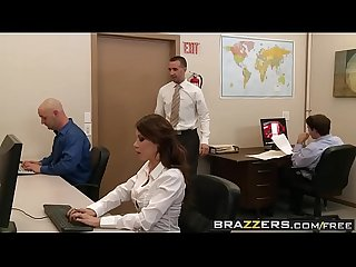Brazzers big tits at work woopee in the workspace scene starring aleksa nicole and keiran lee