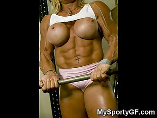Sexy muscular girlfriends excl