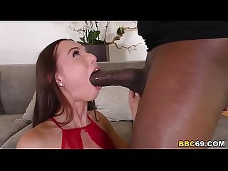 Aidra fox gets punished by mandingo S bbc