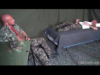 HubxDaddy Two bears fucking in the military camp