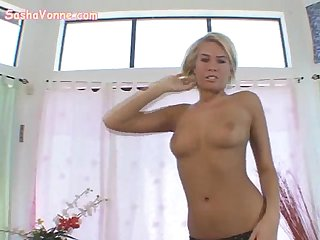 Teen teases the camera