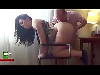 Eating Pamela's cunt and fucking her on a chair. SAN319