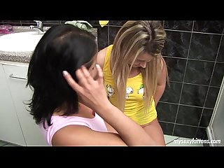 Teens Lisa and Sandra please pussies