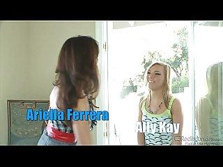 Ally Kay comma Ariella ferrera fuck horny guy