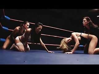 Catfight 2 on 2 humiliation victory