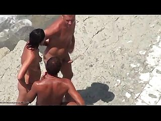 Amateur fukked in beach