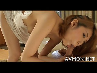 Milf asian receives fingered and screwed