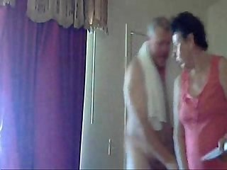 Mum and dad home alone having fun hidden cam
