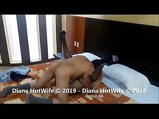 Hombre maduro le da verga a Diana Hotwife