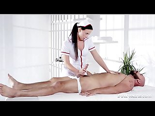 Naughty natalee nurses a hard cock