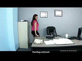 Office assistant getting fucked hard 14