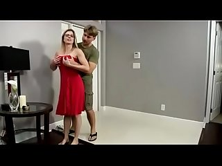Vanessa cage and step mom fuck dad