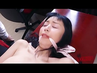 Japanese Sex Slave Marica Comes out of the Closet for some Rough Anal Punishment -..