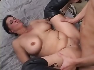 Sweet awakening with blowjob by stepmother 2