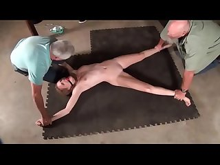 Dumb intruder slut ashley lane gets captured and hogtied like a whore