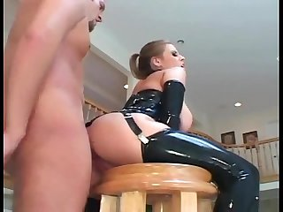 Secretorgasms period com Busty milf Fucking in latex stockings and A corset