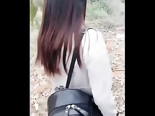 Chinese Cam Girl LiuTing - Outdoor Sex 02