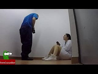 Horny nurse and the maintenance man fuck in their free time raf020
