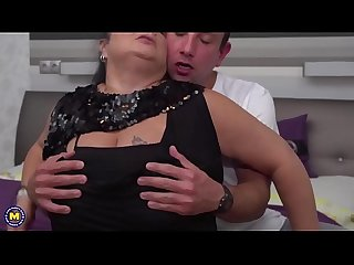 German chubby mature abby sucking and fucking
