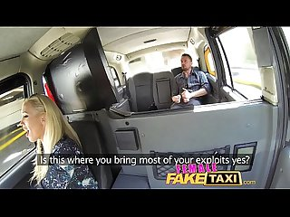 Female fake taxi cocky fella shown who S the boss