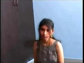Lactating indian girl giving amazing hot blowjob