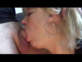 Mature blonde teabags and deepthroats