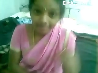 Telugu Pink Saree Hot