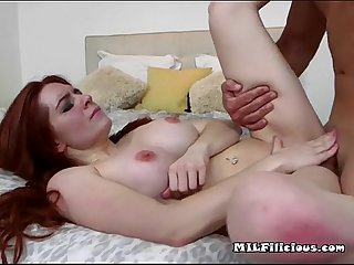 Sexy lady veronica vain gets nailed and jizzed on