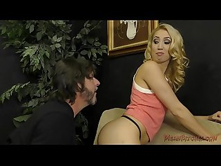 Brat sierra nicole sells her panties and makes him ass worship
