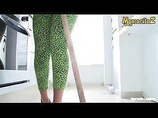MAMACITAZ - Redhead Latina Maid Jenny Marin Goes Dirty For Cash