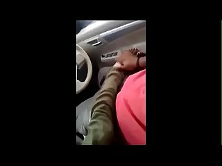 Mallu babe blowjob and riding hard in car