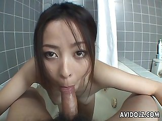 Pov blowjob with reo matsuzaka