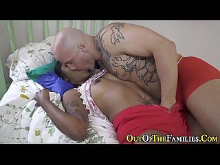 Real ebony stepsis sperm