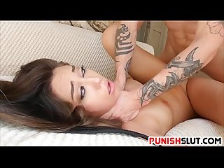 Shane Blair has her tight pussy and mouth punished
