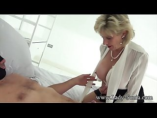 Mature Lady Sonia gets stuffed by a big cock