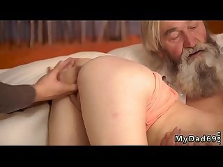 Rough daddy boss S daughter Unexpected experience with an older