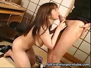 Big Boob Asian Girl BJ